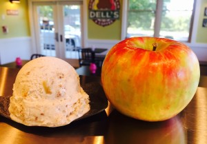 Have you tried our September flavor Apple Jaxx? Its like eating Apple Strudel A La Mode! Cinnamon Ice Cream with Baked Apples and Graham Crunch!